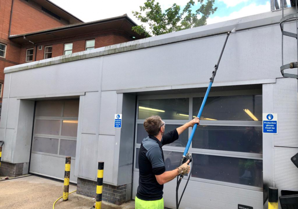 commercial cladding cleaners services