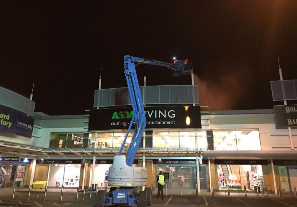 commercial cladding cleaners