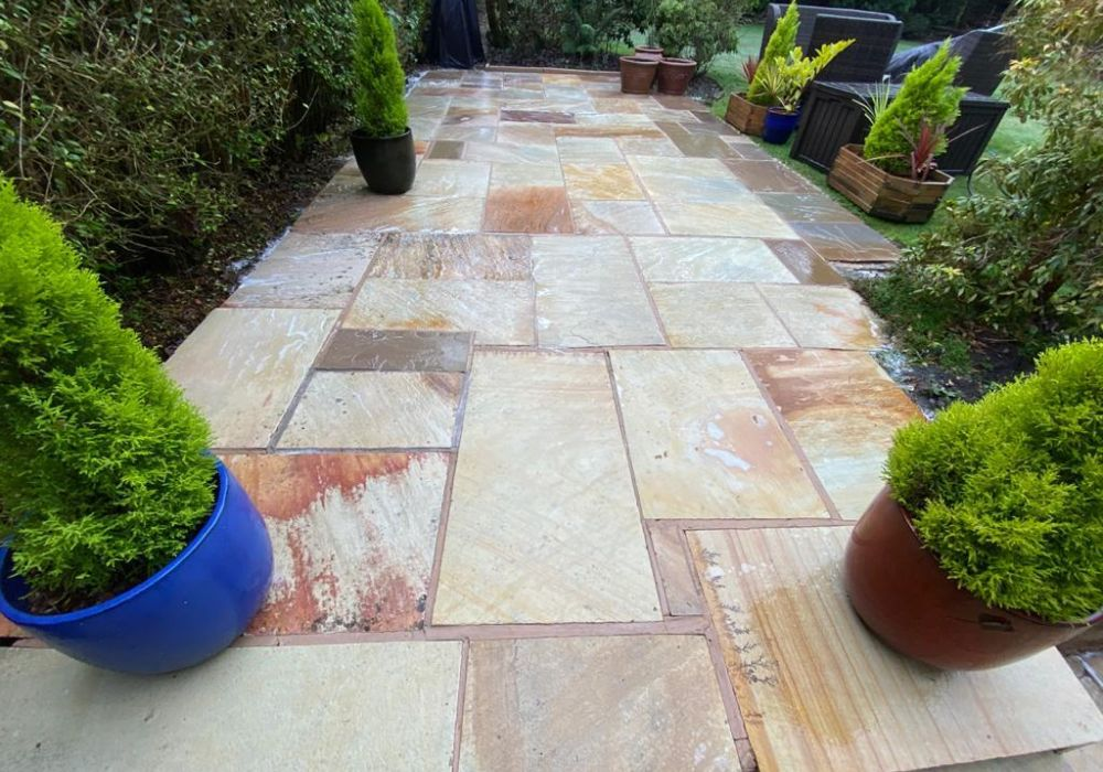 professional patio cleaning
