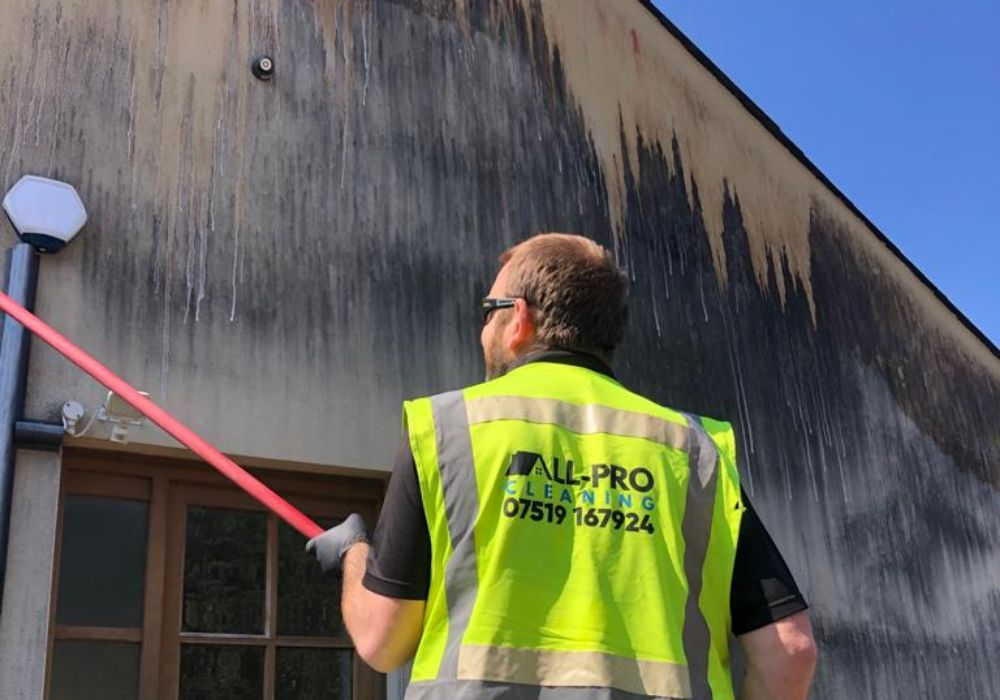 welsh render cleaning company